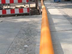 Gasrohr-Sanierung in der Nehringstraße