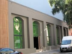 Fassadenarbeiten in der Neufertstraße