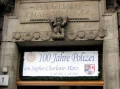 100 Jahre Polizei am Kaiserdamm