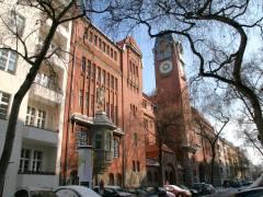 Reformschule Charlottenburg in der Sybelstraße