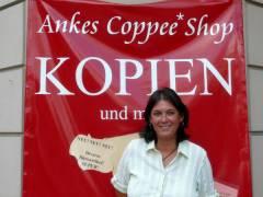 """Ankes Coppee Shop"" - Inhaberin Anke Jablinski"