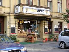 """Backwerk"" in der Nehringstraße"