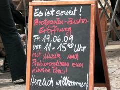 Das Brotgarten-Bistro, jetzt mit eigenem Verkauf, feiert Eröffnung