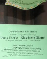 Konzert im Brotgarten-Café