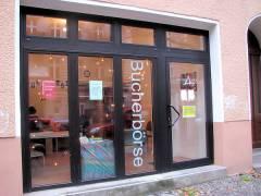 Bücherbörse in der Knobelsdorffstraße 33