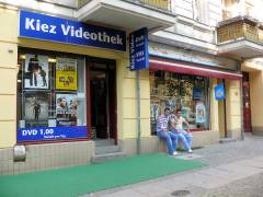 Kiez Videothek in der Danckelmannstraße