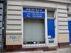 Firma Heinisch in der Seelingstraße