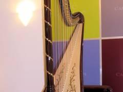 Eine Harfe im Kiez
