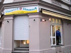 Kommendes Café-Restaurant an der Knobelsdorffstraße