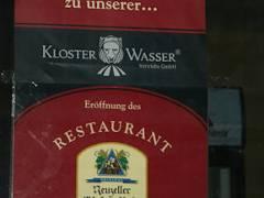 Ankündigung - Restaurant Schwarzer Abt - Dezember 2007