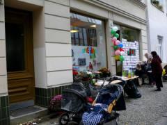 """""""Spielerei"""" in der Nehringstraße/Ecke Seelingstraße"""
