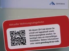 QR-Code für die Wohnungssuche am Klausenerplatz