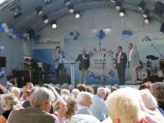 """Eröffnung des Jubiläumsfestes """"50 Jahre Paul-Hertz-Siedlung"""""""