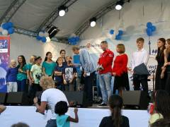 Finale im Kiez Song Contest der GEWOBAG beim Jubiläumsfest in der Paul-Hertz-Siedlung 2013