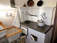 Küche anno 1930 - Museumswohnung der Gewobag in Haselhorst