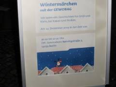 Wintermärchen mit der GEWOBAG