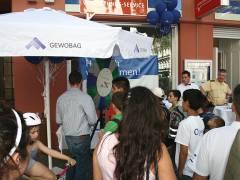 Eröffnung des Kundenservice-Büro der GEWOBAG in der Nehringstraße 2