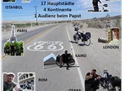 """Vom Pflegefall zum Globetrotter auf dem Fahrrad"" / Foto KDFB"