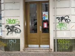 Graffiti in der Nehring/Seelingstraße
