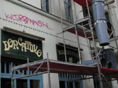 Graffiti im Kiez - 15.07.2008