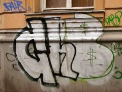 Graffiti in der Nehringstraße