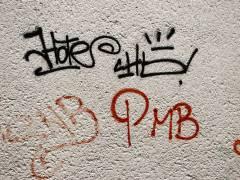 Graffiti Beispiel im Kiez