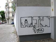 Graffiti oder geheimnisvolle Zeichen?