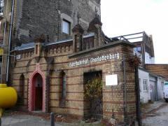 Reste des einstigen Güterbahnhofs Charlottenburg (2008) - Eingangstor mit Pförtnerhaus aus dem Jahr 1894