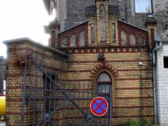 Reste des einstigen Güterbahnhofs Charlottenburg (2008) - Pförtnerhaus aus dem Jahr 1894