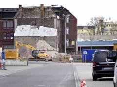 Abrissarbeiten auf dem Gelände des ehemaligen Güterbahnhofs Charlottenburg