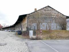 Reste des einstigen Güterbahnhofs Charlottenburg (2017) - Güterschuppen von 1892/93