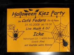 Halloween-Party am Klausenerplatz