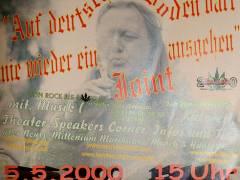 Veranstaltung zum 11. Todestag von Wolfgang Neuss in der Schloßstraße