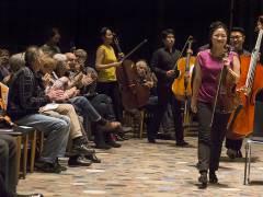 """Benefizkonzert des südkoreanischen Kammerorchesters """"Hankyung Sinfonietta"""" in der Gedächtniskirche / Foto © Frank Wecker"""