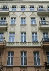Hausfassade in der Seelingstraße - 2012 neu saniert