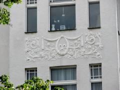 Hausfassade im Horstweg