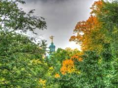 Herbst im Klausenerplatz-Kiez - Oktober 2013 (HDR-Foto)