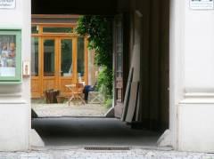 Hinterhof im Kiez am Klausenerplatz