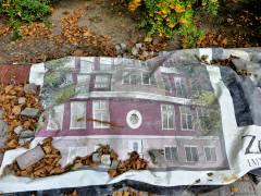 Gefallene Investorenpläne im Hinterhof am Klausenerplatz 19