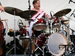 Torsten Zwingenberger beim Jazzfest vor dem Schloß Charlottenburg 2010