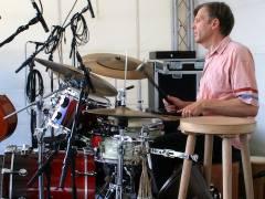 Jazzfest vor dem Schloß - Torsten Zwingenberger Drumming 5.1