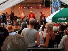 Jazzfest vor dem Schloß - EB Davis & the Superband
