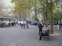 Joachimstaler Platz - Blick Richtung Augsburger Straße