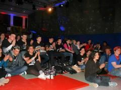 Eine Gruppe die das Publikum begeisterte.