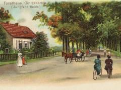 Forsthaus Königsdamm (heute Schuckertdamm) Charlottenburg-Nord, Jungfernheide um 1900 - Bildquelle Wikipedia / www.zeno.org - Zenodot Verlagsgesellschaft mbH