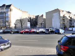 Grundstück an der Ecke Kaiserdamm/Witzlebenstraße nach Abriss des alten Flachbaus (März2017)