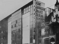 Kant-Garagen-Palast 1930er Jahre / Bildquelle Nalbach + Nalbach Gesellschaft von Architekten mbH