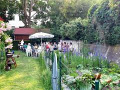 Sommerfest in der Kleingartenkolonie / Foto KGK Bundesallee