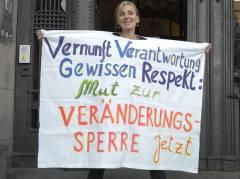 Kleingärtner der Kolonie Oeynhausen fordern vom Bezirksamt endlich die Veränderungssperre