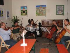 Kiezer Kammerorchester bei der Probe